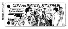"""Conversation Stoppers"" from The Village Voice, 1981"