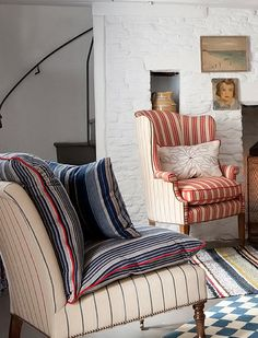 Love these Fabrics from  William Yeoward  #Cottage Style