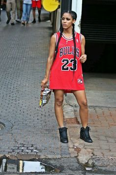bbd5ae200b5b Jersey dress Chicago Bulls Outfit