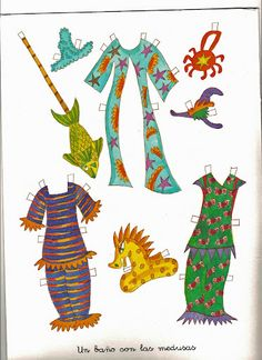 Witches Paper Dolls | Gabi's Paper Dolls
