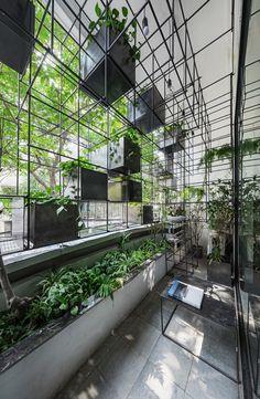 Галерея пробуждения вверх пространство! Городской Эко-Балкон / Сельское Хозяйство Студии - 9