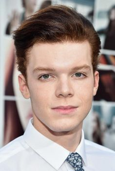 "Cameron Monaghan during the premiere of ""If I Stay"" in August 2014..."
