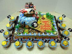ultimate pirate cake!