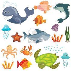 Animales fondo del mar