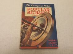 Popular Mechanics March 1942 - Building the Liberty Fleet - Great Condition - Fascinating Articles and Many Vintage Ads - World War 2