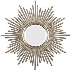 "Sunburst Reflections 38"" High Wall Mirror | LampsPlus.com. $229.91 plus free shipping. 38""x36"""