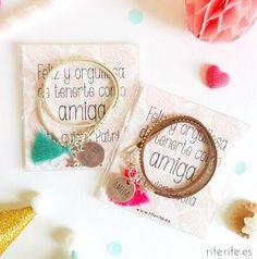 Detalles bonitos para tu boda. Pulseras paras las amigas, un recuerdo genial | Bodas y Despedidas | Pinterest | Bonito and Html