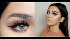 HOW I GET THICK BROWS | EYEBROW TUTORIAL