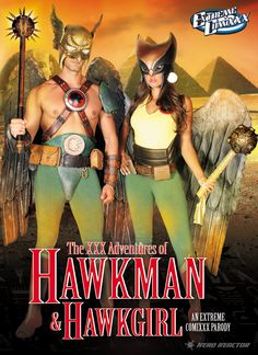 ADULT FILMS: The XXX Adventures of Hawkman and Hawkgirl An Extreme Comixxx Parody trailer arrives