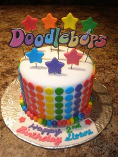 I love the stars!  I also love the Doodlebops sign...but maybe it can be Carleigh's name instead?