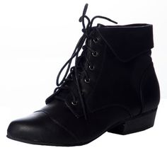 Breckelles Women's Womens Fold Over Lace Up Oxford Boots 5.5 Black Breckelles http://www.amazon.com/dp/B00AW3OHR2/ref=cm_sw_r_pi_dp_TJFiub0CFSFQ3