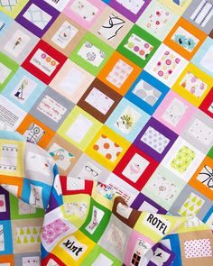 Tell Me a Story Quilt and A Tutorial | Red Pepper Quilts | Bloglovin'