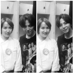 G-Dragon with Gabie Kook, Masterchef Korea 3 (140810)