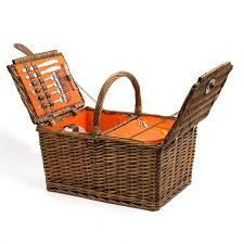 334d3d594 Picnic at Ascot Surrey Willow Picnic Basket with Service for 2 with ...