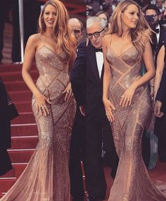 Blake Lively slays at Cannes Film Festival 2016 ♡ - Looking for Hair Extensions to refresh your hair look instantly? KINGHAIR® only focus on premium quality remy clip in hair. Mode Blake Lively, Blake Lively Style, Blake Lively Dress, Blake Lively Fashion, Blake Lively Outfits, Vanessa Abrams, Celebridades Fashion, Evening Dresses, Prom Dresses