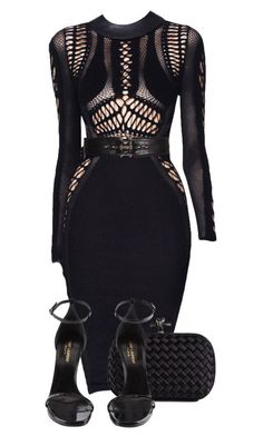 """Untitled #2985"" by xirix ❤ liked on Polyvore featuring Julien Macdonald, Givenchy, Bottega Veneta and Yves Saint Laurent"