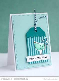 Birthday Bears, Things With Wings, Blueprints 23 Die-namics, Tag Builder Blueprints 2 Die-namics, Things With Wings Die-namicsKarin Åkesdotter #mftstamps