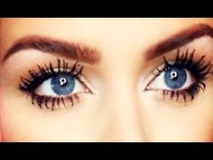 ▶ HOW TO GROW Your Eyelashes & Eyebrows! (DIY) - YouTube [makeup]