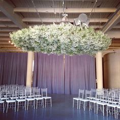 A perfect spot to exchange vows and display some pretty amazing baby's breath garlands and florals. Description from suegallodesigns.com. I searched for this on bing.com/images