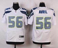 Jerseys NFL Wholesale - Nike Seahawks #56 Cliff Avril Green Men's Stitched NFL Limited ...