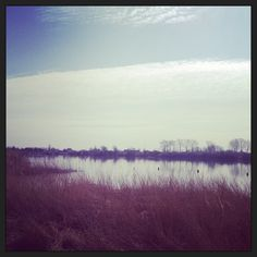 Lakes makes me calm