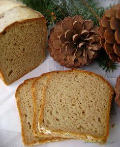 Domowy chleb na zakwasie, pieczenie krok po kroku Bread Machine Recipes, Bread Recipes, Polish Recipes, Bread Rolls, Scones, Nutella, Recipies, Food And Drink, Pizza