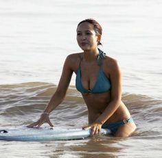 Myleene Klass #myleeneklass #bikini #beach #bluebikini