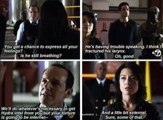 """I like her!!! (:"" Me too!!! Agent May is AWESOME!!!!! XD Agents of Shield!!!"