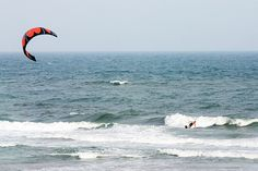 A Kite and A Board (Kiteboarding) in Outer Banks