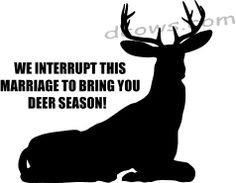 So for my husband....but I am usually right along side of him! Now if this was for duck hunting it would be perfect!