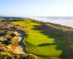 A golf trip to Bandon Dunes, Oregon, is the closest you'll get to the Scottish links without hopping the pond. Plus, it's the only place in the U. where you can play four Golf Digest top 100 golf courses on one property. Famous Golf Courses, Public Golf Courses, Bandon Dunes Golf, Augusta Golf, Golf Course Reviews, Woods Golf, Golf Humor, State Parks, Places To Go