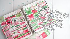 Plan As You Go Plan With Me ft. Little Miss Paperie // Creating&Co