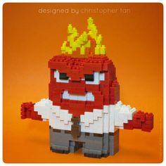 nakoblock Anger from Pixar's Inside Out