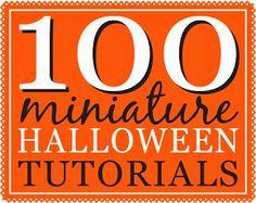 100 Dollhouse Miniature Halloween and Fall Tutorials | true2scale
