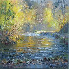 Rex PRESTON Autumn Golds, Beresford Dale