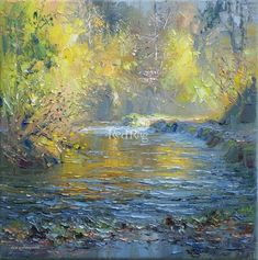 Rex PRESTON Autumn Golds, Beresford Dale