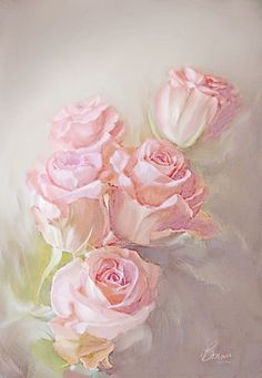 Oil painting Flowers art famous rose paintings original oil paintings for sale by artist vase of flowers art batman canvas painting Floral Vintage, Vintage Diy, Vintage Flowers, Oil Painting For Sale, Paintings For Sale, Rose Paintings, Flower Vases, Flower Art, Decoupage