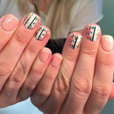 Awesome peach nail polish designs 2017 - styles art nails in Peach Nail Art, Peach Nail Polish, Peach Nails, Gel Polish, Acrylic Nail Art, Gel Nail Art, Nail Nail, Nail Polish Designs, Nail Art Designs