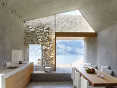 Wespi de Meuron Romeo Architects - Project - Conversion of old stone house in the village core of Scaiano