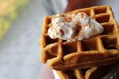 Pumpkin Pie Waffles:   http://sweetstacks.com/pumpkin-pie-waffles/