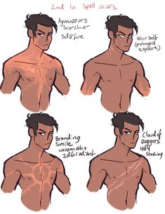 level 2 spell scars :) have fun when you suffer (C… – – Character Design Character Design Tips, Character Design Tutorial, Fantasy Character Design, Character Design References, Character Design Inspiration, Character Concept, Character Art, Drawing Reference Poses, Drawing Poses
