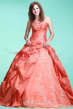 US$223.99 Fabulous Ball Gown Strapless Neckline Floor-length Ela's Ball GownGownQuinceanera Dress. #Vintage #Floor-length #Gown #Quinceanera