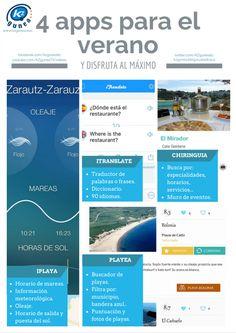 4 apps de verano para disfrutar al máximo