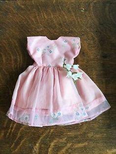 """Vintage faerie glen Teenage 10-12"""" doll party dress suit sindy similar excellent  £9.50"""
