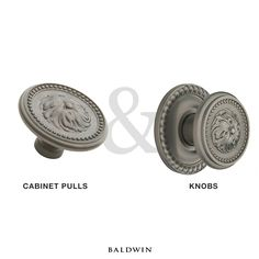 Did you know that Baldwin Hardware carries cabinet pulls to match some of your favorite Baldwin knobs?