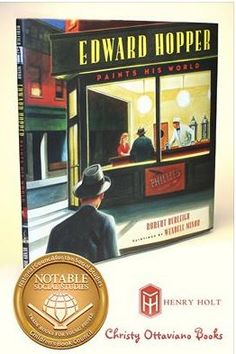 Edward Hopper Paints His World is in the 2015 Notable Social Studies Trade Books for Young People Bibliography @ http://balkinbuddies.blogspot.com/2015/02/wendell-minors-edward-hopper-paints-his.html and it's on Bank Street College of Education's 2015 Best Children's Books of the Year http://balkinbuddies.blogspot.com/2015/03/marc-aronson-ashley-bryan-emily-arnold.html