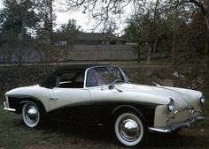 1958 Volkswagen Rometsch, an extremely rare two-seat sports car