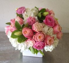 Send the Pink Sensations bouquet of flowers from Seti Flowers in San Francisco, CA. Local fresh flower delivery directly from the florist and never in a box! Cherry Blooms, Fresh Flower Delivery, Little Flowers, Types Of Flowers, Pink Roses, Pink Peonies, Flower Designs, Wedding Flowers, Gerbera Wedding