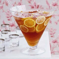 Brandy-Wine Punch | When making a punch, opt for affordable, high-quality wines and spirits. For the sparkling wine, try Cava from Spain. If you don't have Cointreau stocked in your bar, try using Grand Marnier or another triple sec.