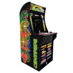 Atari Games Arcade System Deluxe Edition 12 in 1 With Riser Graphics for sale online Arcade Game Machines, Arcade Machine, Lunar Lander, Retro Arcade Games, Crystal Castle, Games W, Susa, Space Invaders, Tech Gifts